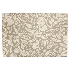 Shop Grey Forest Floor Kids Rug.  A variety of leaves and flowers create the elegant floral pattern on our Forest Floor Rug.  Plus, it was designed just for us by Sarah York.  is all in the planning.  Check out our tips. 4x6 $299