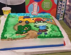 Scout From Leapfrog My Daughter Really Wanted A Scout Cake