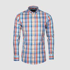 Svieža farebná košeľa z novej kolekcie jar / leto 2020. Pribudne do vášho šatníka?  #stevula #dressshirt #collection #ss20 #kosele #panskekosele #panskekosile #slimfit #menswear #online Leto, Button Down Shirt, Men Casual, Shirt Dress, Instagram Posts, Mens Tops, Shirts, Dresses, Fashion