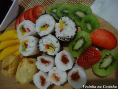 Vezinha na Cozinha: Sushi doce                                                                                                                                                                                 Mais
