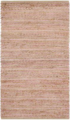 Cape Cod Light Pink Area Rug