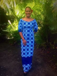Lovely Ms. Ruth Stuwear Samoan Designs, Island Wear, Island Outfit, New Dress Pattern, Dress Patterns, Sewing Patterns, Samoan Dress, Island Style Clothing, Fashion Prints