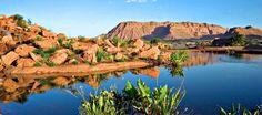 Beautiful Desert Landscape setting for The Inn At Entrada, St. George #Utah