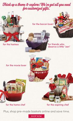 gift basket ideas..
