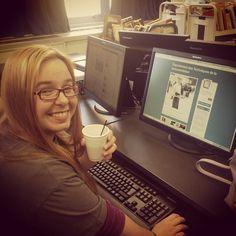 Christine, #heroine de #tumblr aujourd'hui ! #techdoctr #cegeptr #troisrivieres #portesouvertes2013