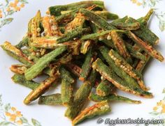 Fat Free Okra Fries - I just made these and they were great! no oily pan and greasy okra. I cooked about 4 mins, and they were a little overcooked. I would suggest 2 mins at a time. Cathy