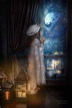 Rodionova Natasha - The Night Before Christmas.  MELUSINE.H                                                                                                                                                                                 Plus