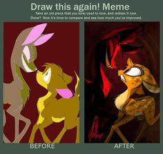 Draw Again by VivzMind.deviantart.com on @deviantART