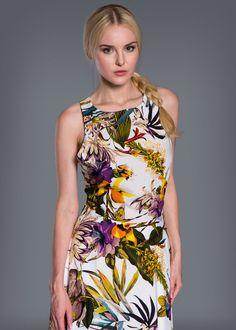 7121-140400, Платье/разноцветный   #kseniaknyazeva #kknyazevaru #fashion #style #stylish #love #me #cute #nails #hair #beauty #beautiful #pretty #girly #pink #girl #girls #eyes #model #dress #skirt #shoes #heels #styles #outfit #purse #jewelry #shopping #Glam #russia #newcollection