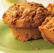 Pumpkin-Spice Muffins (make-ahead batter can be stored in fridge up to a week & pumpkin can be replaced by other fruit purees) | Fine Cooking