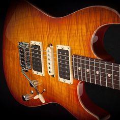 In Stock - @andersonguitarworks Hollow Drop Top in Honey Burst #itsahighendguitarthing #tomandersonguitars #droptop #guitar #honeyburst #madeintheusa #madeincali
