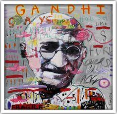 #ARTIST Troy Henriksen - Gandhi