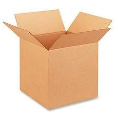 "13 x 13 x 13"" Corrugated Boxes"