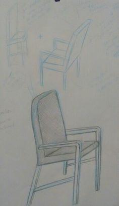 Cadeira simples + poltrona ( acessório)