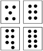 Free Dot Cards 1-12