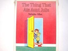 The Thing That Ate Aunt Julia a Vintage by lizandjaybooksnmore, $12.00