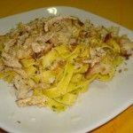 Receita de Frango com Tagliatelle - Receitas Já, rapidas, faceis e simples Culinária
