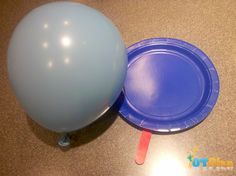 Ping Pong Plates activity | OT Activity Idea-while balancing on a bosu ball for older kids