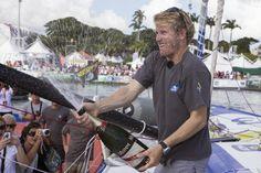 """La Route du Rhum 2014 pour Macif !  François Gabart  : """"Je me suis donné comme jamais !"""" #IMOCA #RDR2014 #RouteduRhum #Guadeloupe"""