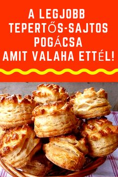 Hungarian Desserts, Hungarian Recipes, No Salt Recipes, Cookie Recipes, Savory Pastry, Appetisers, Winter Food, Baked Goods, Bakery