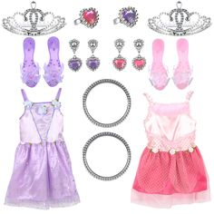 "Dream Dazzlers Deluxe 2-in-1 Princess Set - Child 3-6 Years - Toys R Us - Toys ""R"" Us"