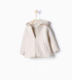 Wool jacket-Coats-Baby girl-Baby | 3 months - 3 years-KIDS | ZARA United States