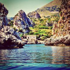Scopello vista del mare -Sicilia