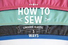 Lingerie Elastic 3 Ways | Colette Blog - women and lingerie, lingerie secrete, leather lingerie *sponsored