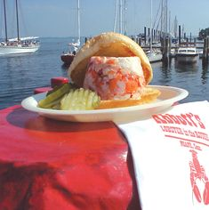 Lobster Roll From Abbott S In The Rough Noank Ct Best