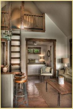 Small House Interior Design Small rooms can be the curse of the home of an owner. But they can also be a blessing in the disguise of the design. Unfortunately, small spaces are often a catalyst… Tiny House Living, Small Living, Home And Living, Tiny House Bedroom, Living Room, Modern Living, Living Area, Tiny Spaces, Tiny House Plans