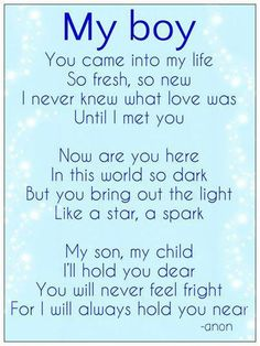 Mothers Love for a Son and Grandson