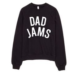 Dad Jams Crewneck Sweatshirt - THE BAD DADS CLUB