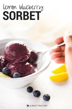 (Swap xylitol for honey) 4-ingredient sweet blueberry goodness -- and it works as your regular fruit serving! Serves 3.