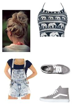 """Untitled #114"" by purpleswaggy19 ❤ liked on Polyvore featuring Vans"