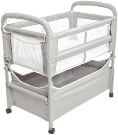 Arm's Reach Mini 3 In 1 Co Sleeper Crib Pack N Play Grey