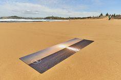 PRAIA's OVERGLOW Natural Rubber Yoga Mat. Available in store for $100.00  #yoga #natural #australia #PRAIAyoga #PRAIA
