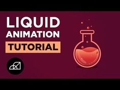 Liquid Animation Easy After Effects Tutorial, Speed Art - YouTube