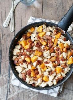 Lunch Recipes, Meat Recipes, Chicken Recipes, Cooking Recipes, Healthy Recipes, Healthy Food, Quick Meals, No Cook Meals, Cooking Together