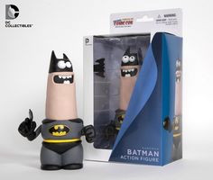 I want!!!!  Eu queroooooo Batman da Aardman ''/