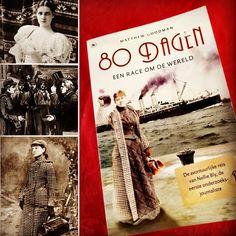 Het boek '80 dagen Een reis om de wereld', van Matthew Goodman vertelt het levensverhaal van pionier en baanbreker Nelly Bly