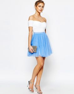 Image 1 of Little Mistress Mini Tulle Skirt