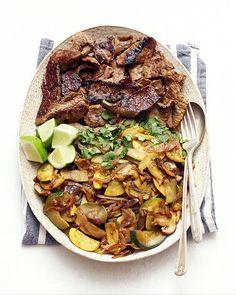 Beef Fajita Salad Bowls (AIP, Paleo, GF, DF) — Meats and Sweets