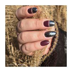 Black glitter manicure Glitter Manicure, Black Glitter, Gemstone Rings, Gemstones, Jewelry, Jewlery, Black Sequins, Gems