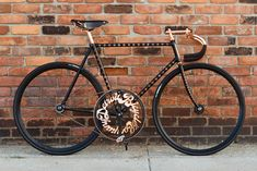 Detroit Bicycle Co. Land Speed Bike | Masterpiece! Look at that 93 tooth crank- not really for hill climbing ;)