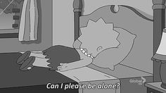 Lisa Simpson needs some alone time