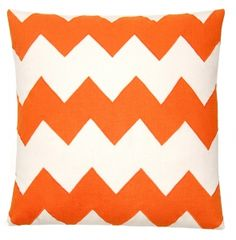 Love this pillow. obsessed with orange right now