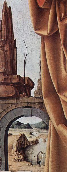 Francesco del Cossa - San Pietro (Polittico Griffoni), dettaglio - 1473 - Pinacoteca di Brera, Milano