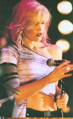 Gwen Stefani. Always, but especially love the pink hair on her.