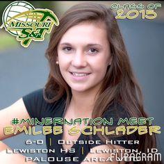 ▶ Meet the NEW 2015 Miners - EMILEE SCHLADER (6'0 / OH / Lewiston HS '15 / Palouse Area VBC / Lewiston ID) / Play #flipagram Video - http://flipagram.com/f/MT38nAsBgI