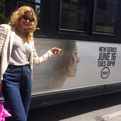 Proof TNT Page Liked · June 8 ·    Repost from @kyrasedgwick on Twitter: Look what drove by Proof TNT's Executive Producer, Kyra Sedgwick, during a neighborhood stroll!